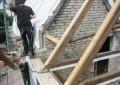 Umbau und energetische Sanierung eines Einfamilienhauses (Dacharbeiten)