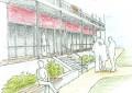 Neubau Mehrgenerationenwohnen im Passivhausstandard (Perspektive Innenhof)