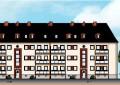 Modernisierung und Instandsetzung von Mehrfamilienhäusern, Saarlandstraße